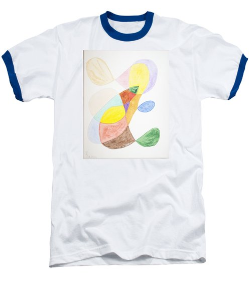 Baseball T-Shirt featuring the painting Windy  by Stormm Bradshaw
