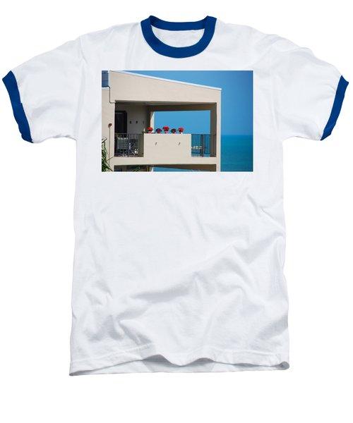 Baseball T-Shirt featuring the photograph Flower Pots Five by John Schneider