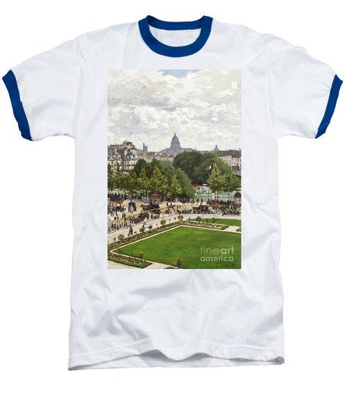 Garden Of The Princess Baseball T-Shirt by Claude Monet