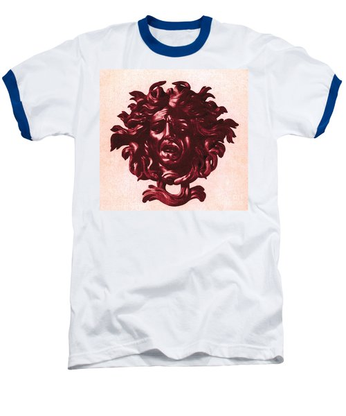 Medusa Head Baseball T-Shirt by Photo Researchers