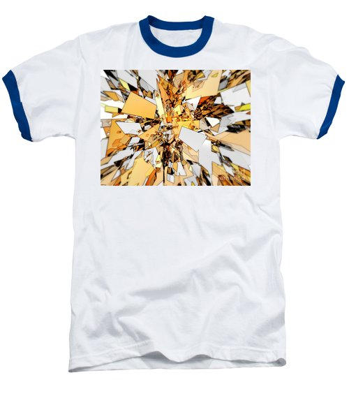 Baseball T-Shirt featuring the digital art Pieces Of Gold by Phil Perkins