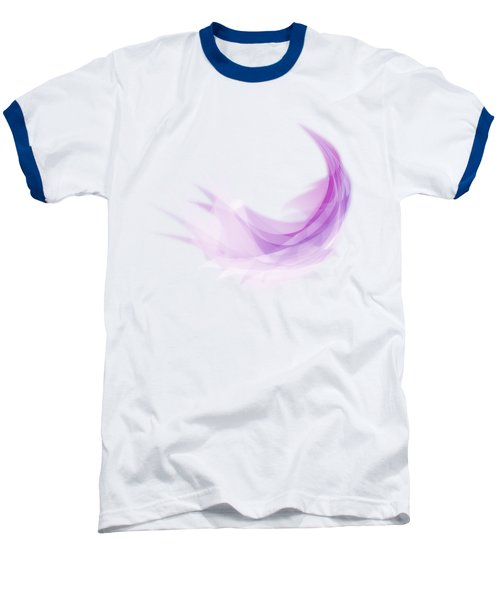 Baseball T-Shirt featuring the painting Abstract Feather by Setsiri Silapasuwanchai