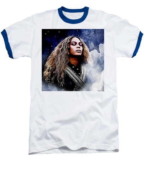 Beyonce  Baseball T-Shirt by The DigArtisT