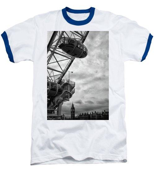 The London Eye Baseball T-Shirt by Martin Newman