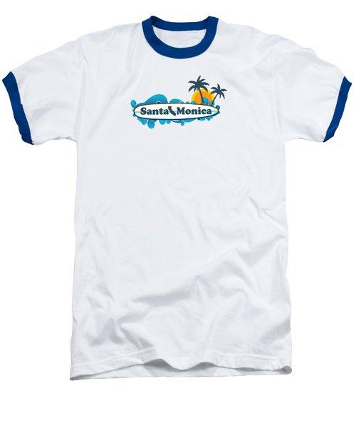 Santa Monica Baseball T-Shirt by American Roadside
