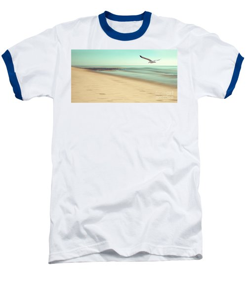 Baseball T-Shirt featuring the photograph Desire Light Vintage by Hannes Cmarits