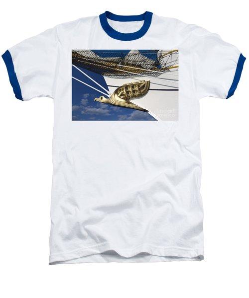Albatross Figurehead Baseball T-Shirt by Heiko Koehrer-Wagner