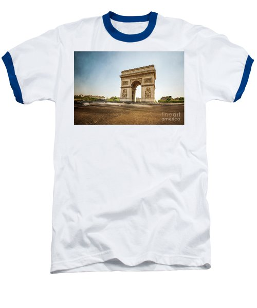Baseball T-Shirt featuring the photograph Arc De Triumph by Hannes Cmarits
