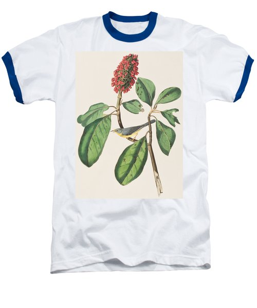 Bonaparte's Flycatcher Baseball T-Shirt by John James Audubon