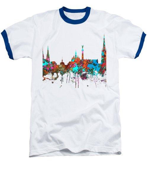 Bordeaux France  Skyline  Baseball T-Shirt by Marlene Watson