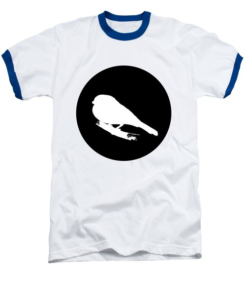 Bullfinch Baseball T-Shirt by Mordax Furittus