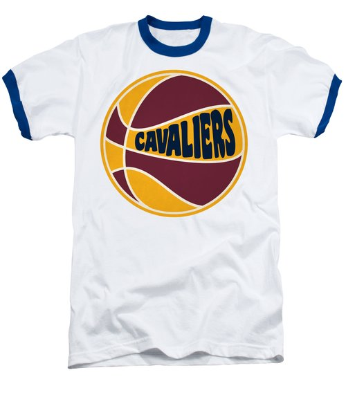 Cleveland Cavaliers Retro Shirt Baseball T-Shirt by Joe Hamilton