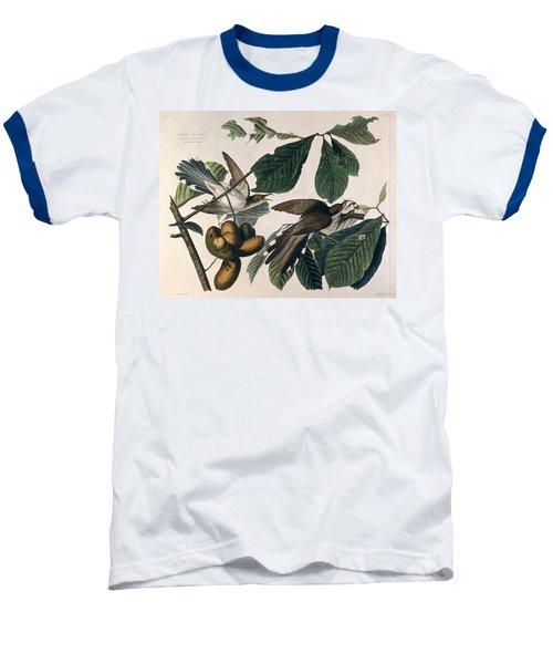 Cuckoo Baseball T-Shirt by John James Audubon