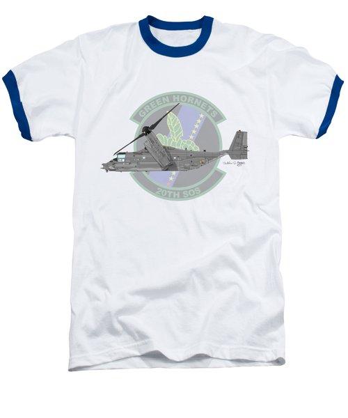 Cv-22b Osprey 20sos Baseball T-Shirt by Arthur Eggers