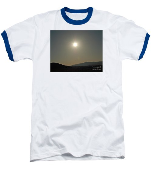 Baseball T-Shirt featuring the digital art Desert Sun by Walter Chamberlain
