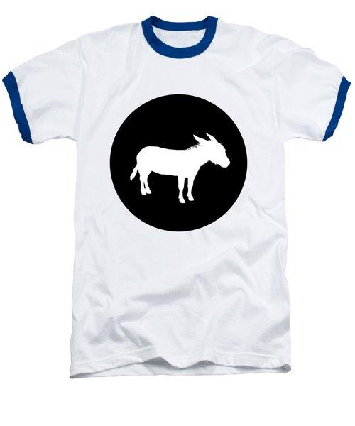 Donkey Baseball T-Shirt by Mordax Furittus