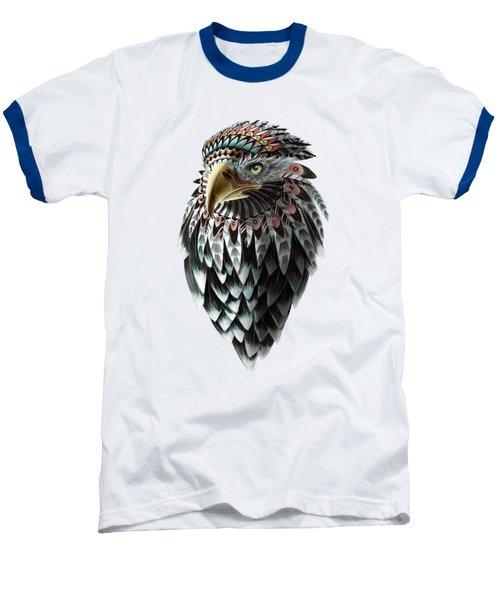 Fantasy Eagle Baseball T-Shirt by Sassan Filsoof