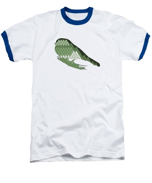 Finch Baseball T-Shirt by Mordax Furittus
