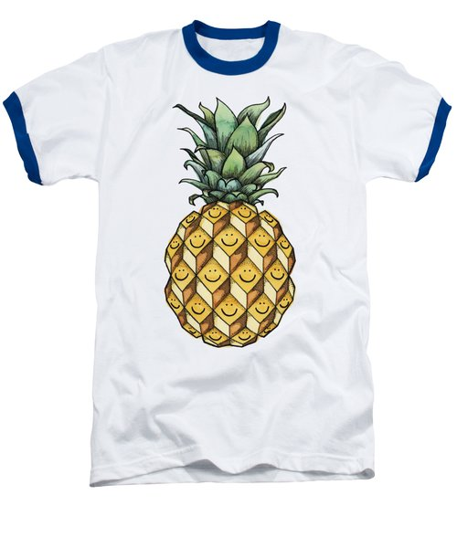 Fruitful Baseball T-Shirt by Kelly Jade King
