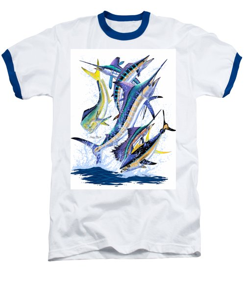 Gamefish Digital Baseball T-Shirt by Carey Chen