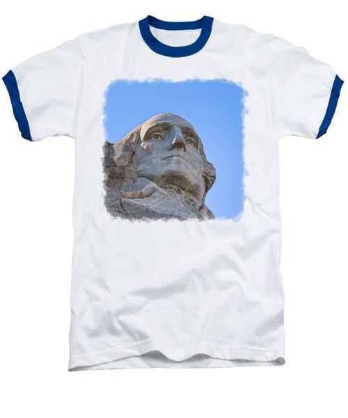 George Washington 3 Baseball T-Shirt by John M Bailey