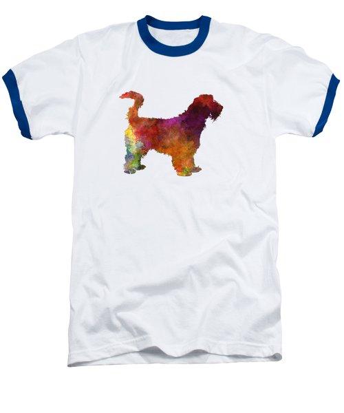Grand Griffon Vendeen In Watercolor Baseball T-Shirt by Pablo Romero