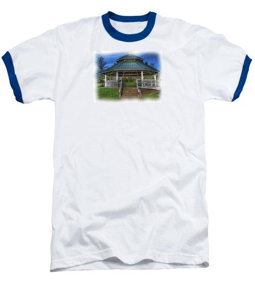 Baseball T-Shirt featuring the photograph Happy Valley Gazebo Art  by Thom Zehrfeld