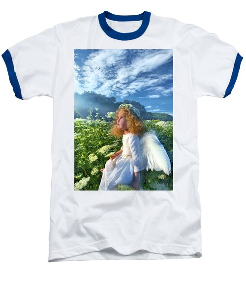 Baseball T-Shirt featuring the photograph Heaven Sent by Phil Koch