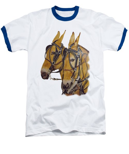 Hitched #2 Baseball T-Shirt by Gary Thomas