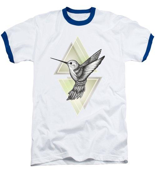 Hummingbird Baseball T-Shirt by Barlena