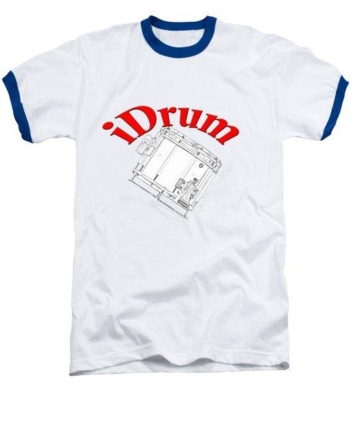 iDrum Baseball T-Shirt by M K  Miller