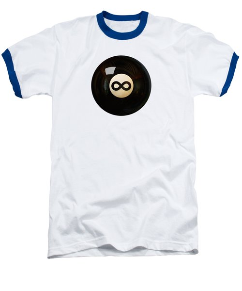 Infinity Ball Baseball T-Shirt by Nicholas Ely