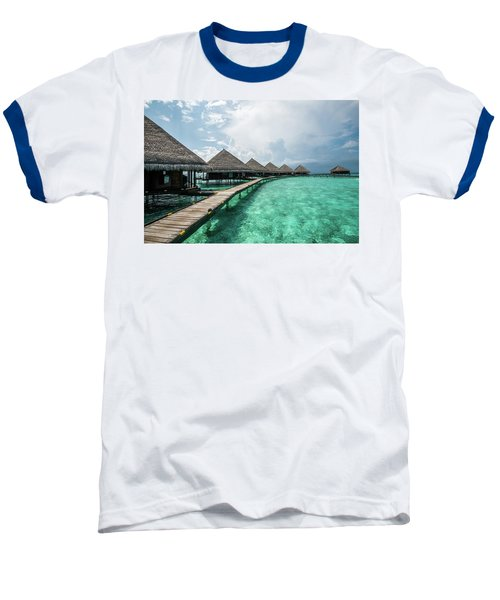 Baseball T-Shirt featuring the photograph Inhale by Hannes Cmarits