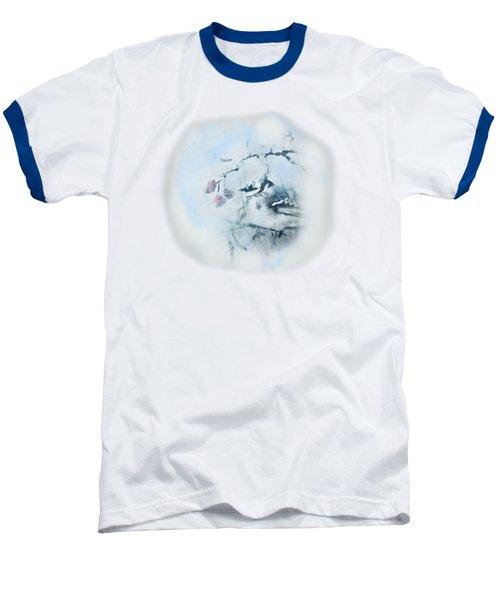 January Bluejay  Baseball T-Shirt by Susan Capuano