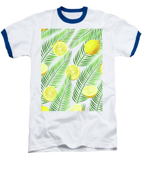 Lemons Baseball T-Shirt by Uma Gokhale