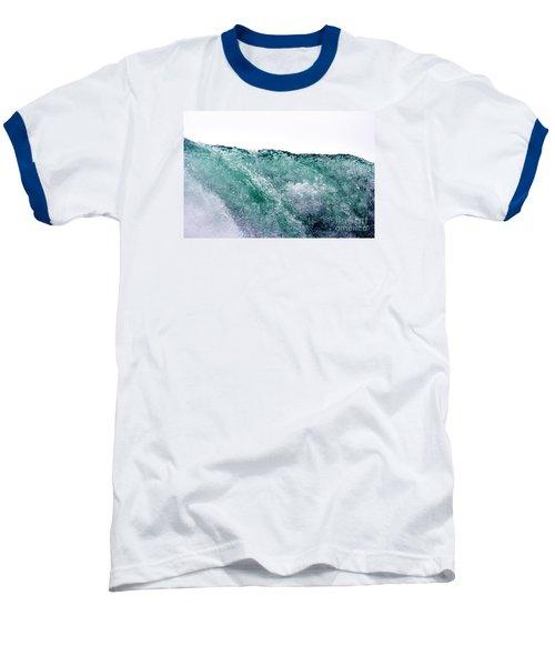 Baseball T-Shirt featuring the photograph Liquid Horizon by Dana DiPasquale