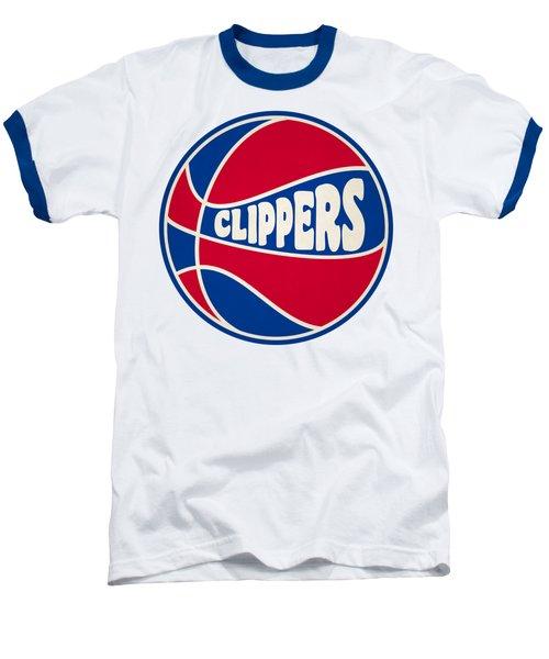 Los Angeles Clippers Retro Shirt Baseball T-Shirt by Joe Hamilton