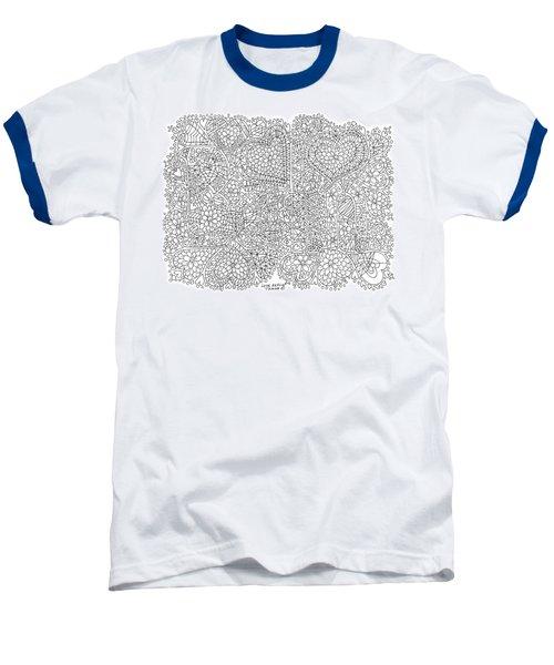 Love Berlin Baseball T-Shirt by Tamara Kulish