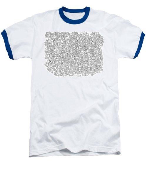 Love Moscow Baseball T-Shirt by Tamara Kulish