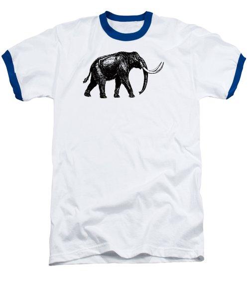 Mammoth Tee Baseball T-Shirt by Edward Fielding