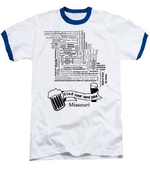 Micro Brew Missouri Baseball T-Shirt by Ryan Burton