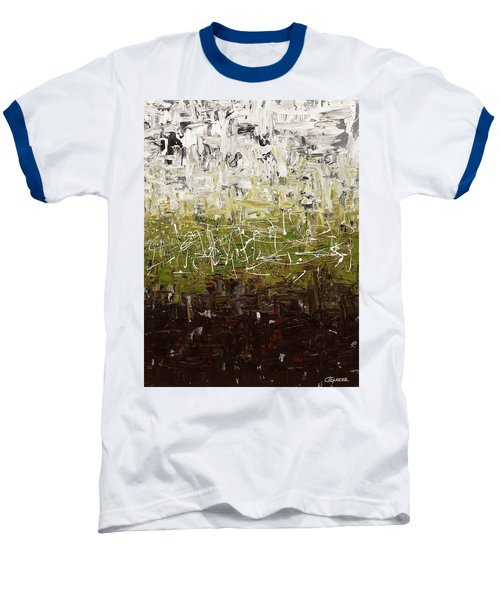 Baseball T-Shirt featuring the painting Musing by Carmen Guedez