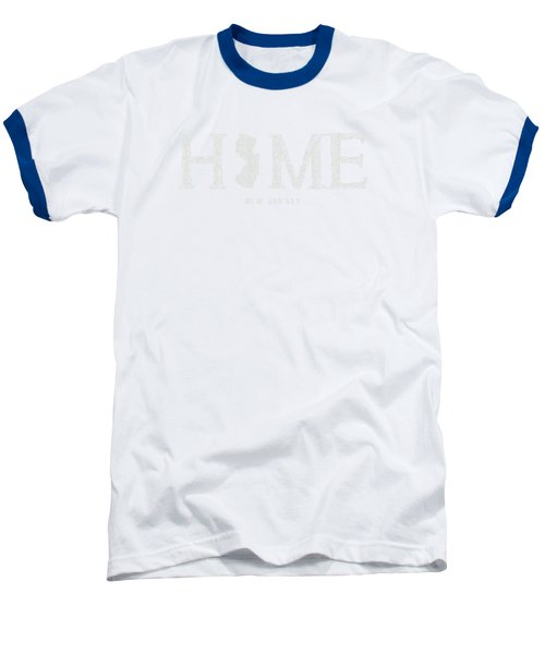 Nj Home Baseball T-Shirt by Nancy Ingersoll