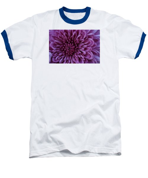 Baseball T-Shirt featuring the photograph Purple Mum by Glenn Gordon