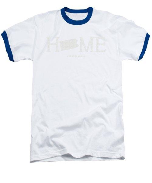 Pa Home Baseball T-Shirt by Nancy Ingersoll