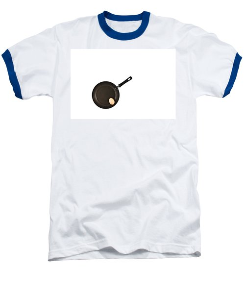 Baseball T-Shirt featuring the photograph Pan With Egg by Gert Lavsen