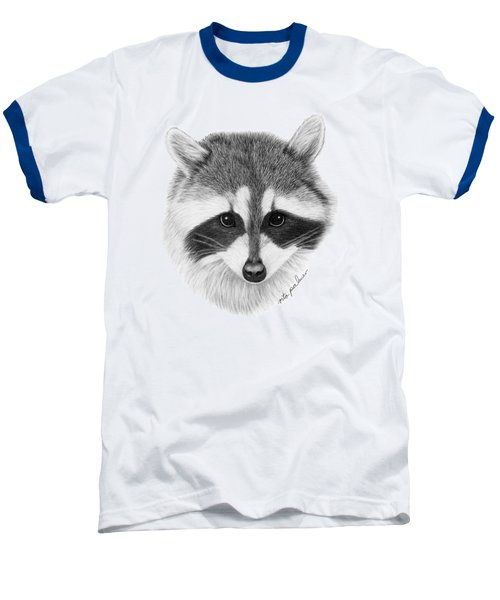 Raccoon Baseball T-Shirt by Rita Palmer