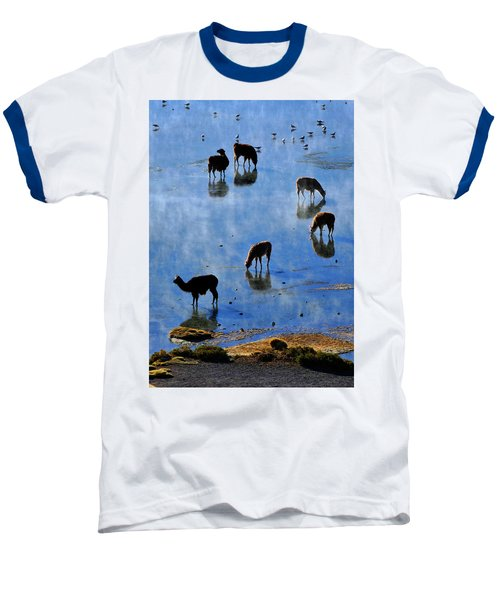 Baseball T-Shirt featuring the photograph Rendezvous by Skip Hunt