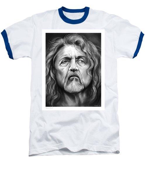 Robert Plant Baseball T-Shirt by Greg Joens