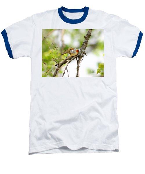 Scissortail Ballet Baseball T-Shirt by Robert Frederick